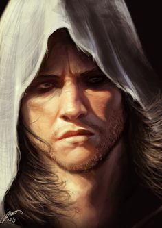 Edward Kenway - painting by jodeee.deviantart.com #AssassinsCreed