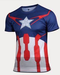 Superman/Batman/spiderman/captain America gym t shirt for men Trendy Fashion, Fashion Outfits, Fashion Trends, Women's Fashion, Fashion Tights, Fashion Design, Superman, Batman Spiderman, Sport T Shirt