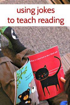 How joke books can help kids learn to read.