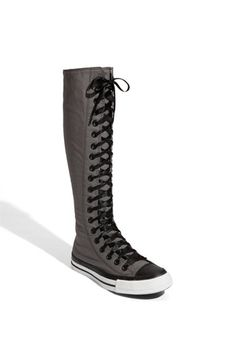 Converse Chuck Taylor Ox XX Hi Boots Charcoal $74.99  i need to go shopping badly