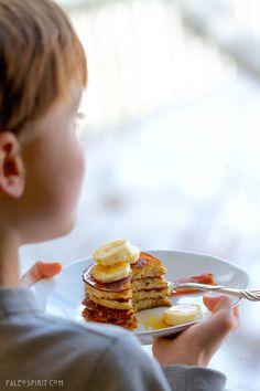 Paleo Banana Pancakes | @paleospirit