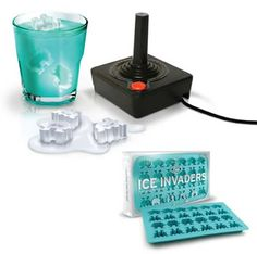 10 Most Creative Ice Cube Trays (novelty ice cube trays) - ODDEE Novelty Ice Cube Trays, Best Ice Cube Trays, Ice Tray, Ice Cube Molds, Ice Cubes, Gadgets, Shops, Cube Design, Space Invaders