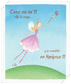 Oruga ---->>> Mariposa