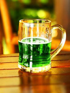 Green Beer: Want to make green beer? It's actually pretty easy -- just add food coloring! Pick a light brew (three to five drops should do it).