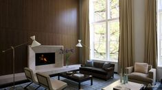 Contemporary Rooms with Modern Fireplaces