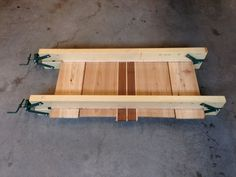 4-Way Panel Clamps - Accurately glueing up large panels can be a real challenge. As you increase the clamping pressure, the panels have a tendency to slide out of vertical alignment or even worse buckle. 4-way panel clamps are the answer to both problems but commercially made clamps are really expensive and cumbersome to use.