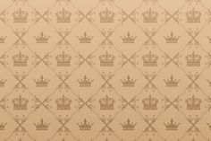 Royal Background Vector by kio on Royal Background, Patterns, Interior Design, Wallpaper, Block Prints, Design Interiors, Patrones, Home Interior Design, Pattern