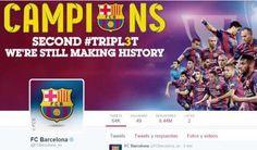 El FC Barcelona es el equipo deportivo líder mundial en las redes sociales