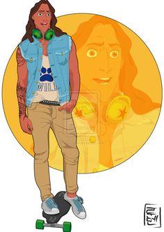 J & F Revista Blog: Fashion Trends, Personajes de Disney COMO Estudiantes Universitarios