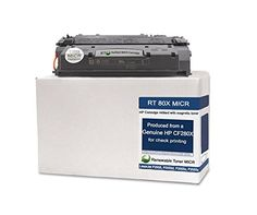 RT CF280X 80X Modified MICR Toner Cartridge High Yield for Check Printing on LaserJet Pro 400 M401 M425 MFP series printers