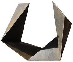 Gilberto Lustosa Sólido 5 lados aberto,Sac 300,144 x 144 x 72 cm,2011
