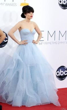 She looks like a princess in this dress