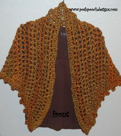 Everyday Shawl By Sara Sach - Free Crochet Pattern - (ravelry)