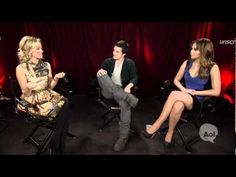 VIDEO: The Hunger Games Unscripted...Elizabeth Banks, Josh Hutcherson, and Jennifer Lawrence: Jen does her best Effie impersonation. (click the watch on youtube link to see all the other clips. there are too many to pin haha)