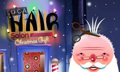 We love the apps Toca Boca makes for kids. With Christmas just around the corner we were excited to find that they have a special festive ed...