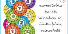 szorzotabla_korok Kids Learning, Montessori, Teaching, Comics, Play, Education, Cartoons, Comic