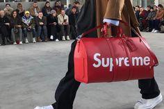 """Confira como foi o desfile da coleção Louis Vuitton X SUPREME """"Outono/Inverno"""" 2017   The Hype BR"""