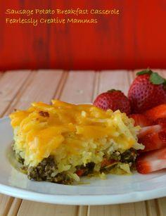 Sausage Potato Breakfast Casserole | The Best Blog Recipes