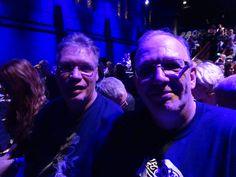 Hans and myself(Flemming) at Anneke's Concert in Tilburg Sep.28,2015