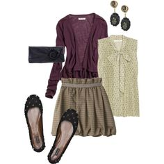 """""""School Girl"""" by lindsay151 on Polyvore"""
