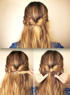 442 best hair bows images on Pinterest   Making hair bows, Diy bow ...