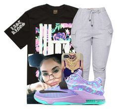 """OOTD"" by jtia ❤ liked on Polyvore featuring Last Kings and NIKE"