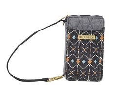 Our Allie Wristlet Wallet is so cute and will hold your cell phone, cash, and keys for quick trips out. https://www.primitivestarquiltshop.com/products/allie-accordion-wristlet #bellataylorhandbags