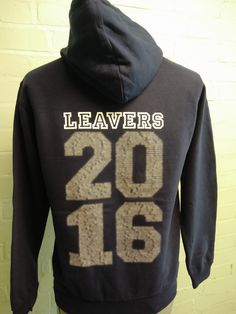 These Leavers Hoodies in Navy Blue are looking great for the FACE of St Mark's – FACE stands for Friendship, Achievement, Commitment, and Enjoyment, presented on a print custom logo on the front of the Hoody. With custom Leavers Names print on the back, these look FAB!