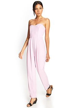 Strapless Wide-Leg Jumpsuit | FOREVER21 - 2000119465