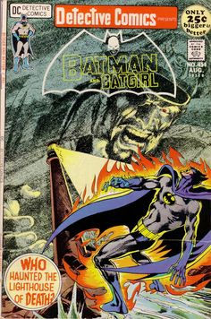 Detective Comics #414  -  DC Comics  - fantastic cover I'm not that familiar with, by the great Neal Adams!