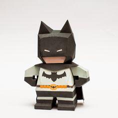 Papercraft Paradise | PaperCrafts | Paper Models | Card Models: Chibi Batman Papercraft