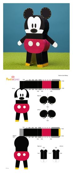 204 Best Papercraft Disney Images On Pinterest In 2018 Paper Toys