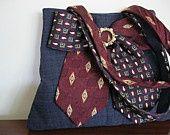 repurpose men's jackets | Repurposed mens jacket & neckties