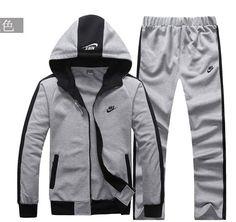 85fbb4d8c22 Free fashion sports wear for men gym suits cotton leisure tracksuit    sweatsuit hoodied sport suits 3 color