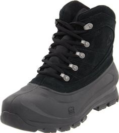 8d946b3206997 Sorel Men s Cold Mountain Snow M US  Sorel delivers a classic with their  Cold Mountain boot. The rubber bottom offers easy cleaning as well as  waterproof ...