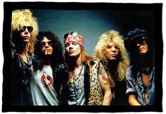 Even if Axel Rose is a huge douchebag, Guns N' Roses is still one of my favorite bands