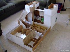 Hamster Labyrinth selber bauen