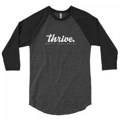 Thrive Clothing baseball t shirt