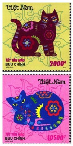 Vietnam - postage stamps, 2011