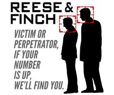 Reese & Finch are 2 halfs of the one person. Finch is Lamont Cranston to Reese who is The Shadow