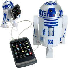 Star Wars Smart Phone R2 D2 Speaker Dock