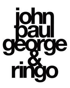 Beatles Love, Beatles Lyrics, Beatles Art, Ringo Starr, George Harrison, Paul Mccartney, John Lennon, Great Bands, The Beatles