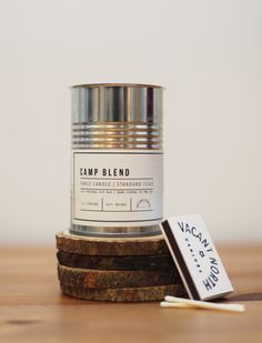Bring the campfire indoors with this 100% natural soy wax candle! Our Camp Blend scent combines outdoor standards like pine and balsam with notes of woodsy patchouli and a hint of vanilla. Hand poured in the USA, these 10 oz. candles have a burn time of 60+ hours, all thanks to an all-natural woo...