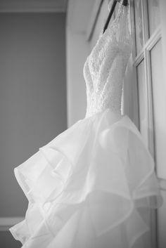 Lavender and Pale Green Virginia Beach Wedding   Wedding dress
