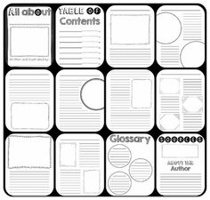Informative Writing Graphic Organizer with 3 Facts and