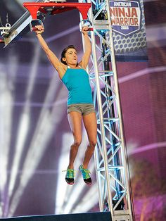 Kacy Catanzaro at American Ninja Warrior America Ninja Warrior, Ninja Warrior Course, Kacy Catanzaro, Best Cardio Workout, Training Workouts, Combat Training, Sports Day, Fitness Goals, Fitness Motivation