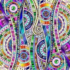Find Original Mosaic Drawing Tribal Doddle Ethnic stock images in HD and millions of other royalty-free stock photos, illustrations and vectors in the Shutterstock collection. Mandala Art, Design Mandala, Mosaic Drawing, Mosaic Art, Doodle Art, Square Canvas, Ethnic Patterns, Zen Art, African Art