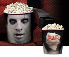 What better way to enjoy a horror film than by watching it while you eat popcorn as though they were someone's brains? That was how Horror Buckets was born- a new souvenir product available to horror film festivals and premieres worldwide.  Horror Buckets launched at Motor City Nightmares 2012, USA, where zombie fans and horror film fanatics were the first to come across this glory keepsake. Agency: Y New York
