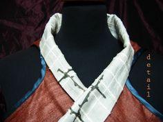 we love silk ! convertible double-sided silk cloth worn on top of silk skirt by Kika Karabela — AGATHI E.E.- KIKA. . 49 , Arachovis str. 106 81 Athens, Greece   CLOTHING STORE / agathi.ee@gmail.com / +30 2108223604