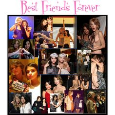 Taylor Swift and Selena Gomez Best Friends Forever, created by scwcb on Polyvore